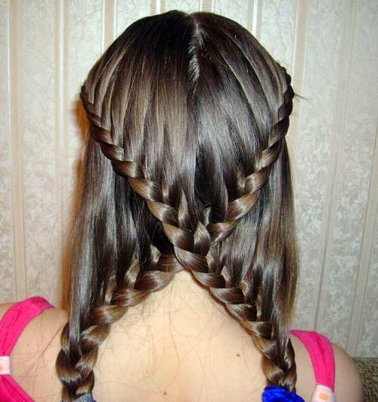 peinados de trenzas originales mujeres