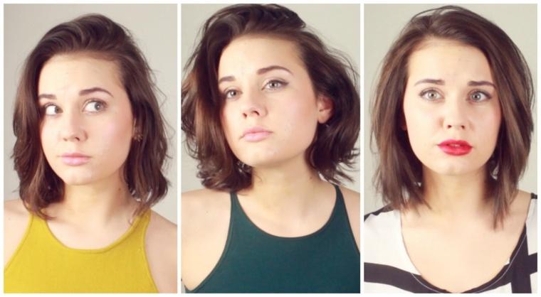 peinados fáciles cabello corto mujeres