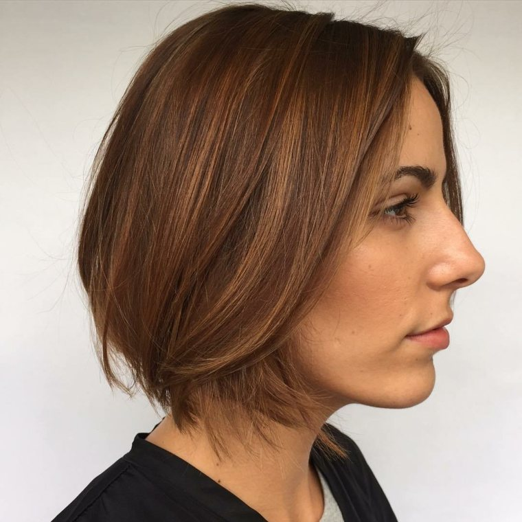 peinados fáciles para pelo corto mujeres