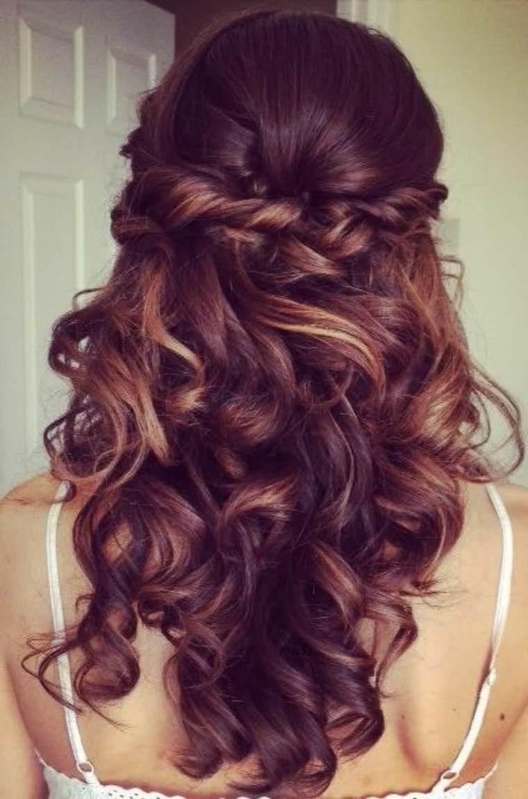 peinados fiesta modernos chicas mujeres - Peinados Fiesta