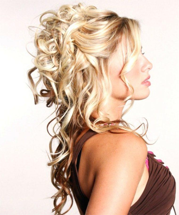 peinados para celebraciones