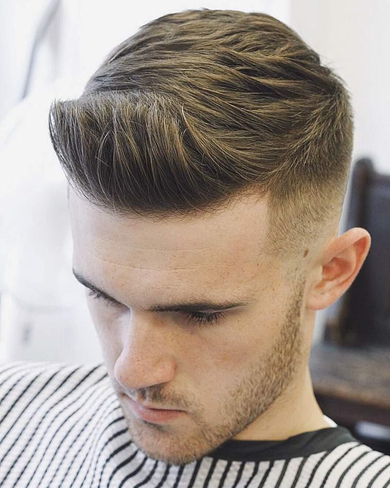 Cortes de pelo hombre tendencias modernas del 2017 - Peinados modernos de hombres ...