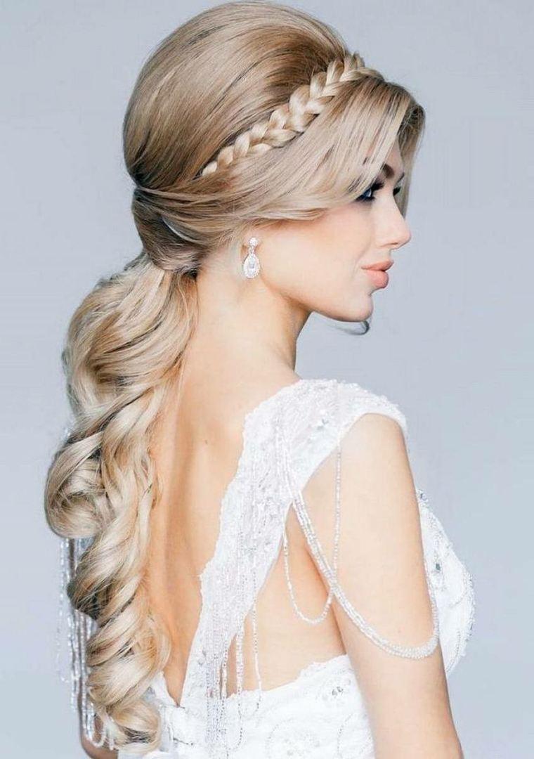 peinados para una boda