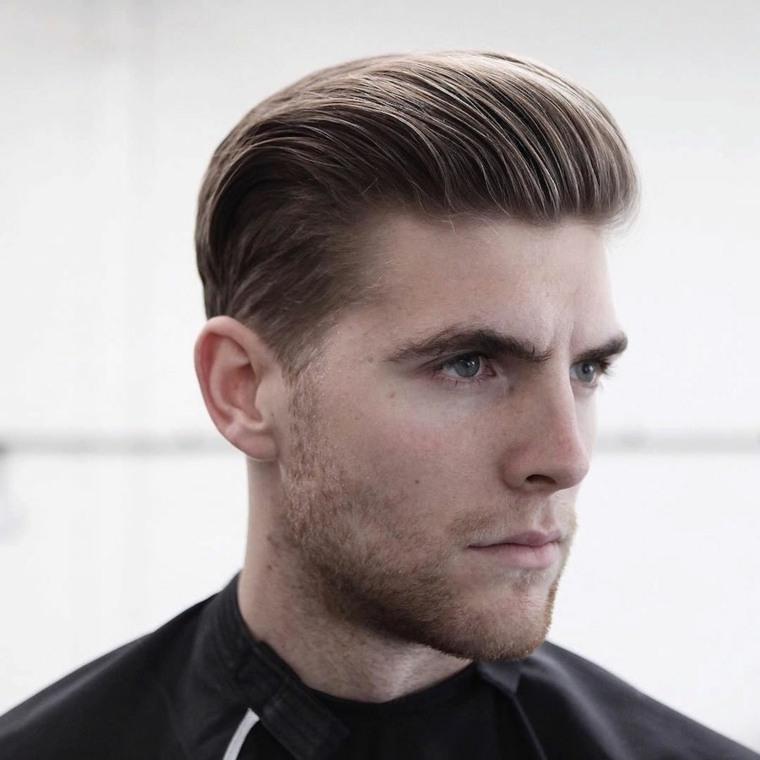 Cortes de pelo hacia atras para hombres