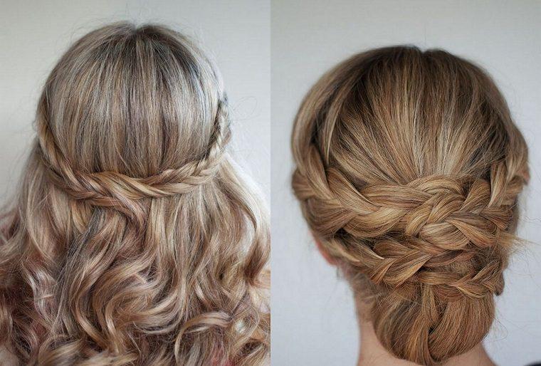 peinados trenzas bellas opciones - Peinados De Trenzas