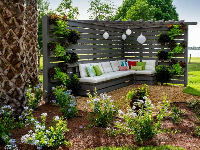 pérgolas jardín
