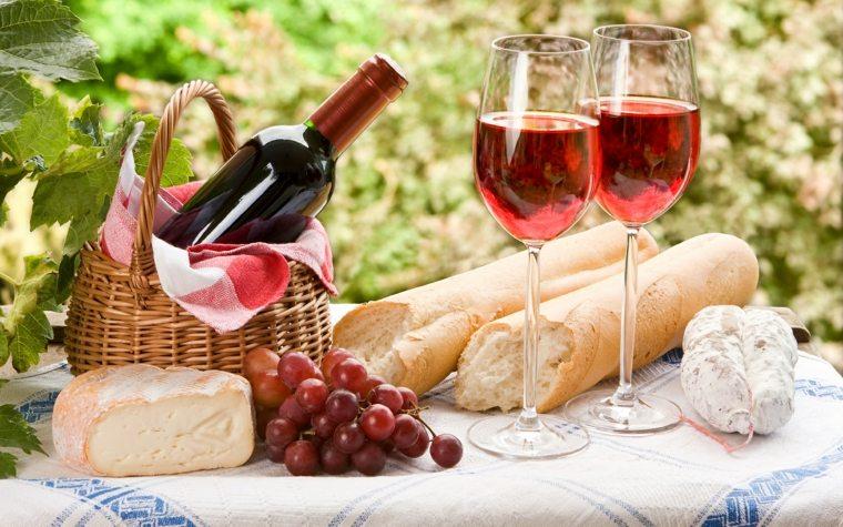 picnic romántico bebida