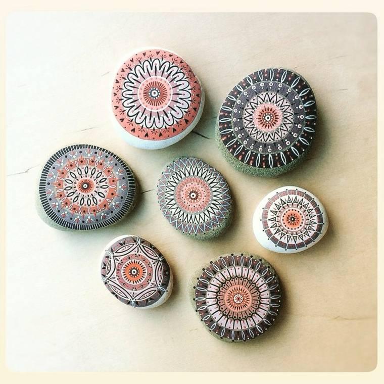 piedras pintadas para decorar vuestra casa de forma original