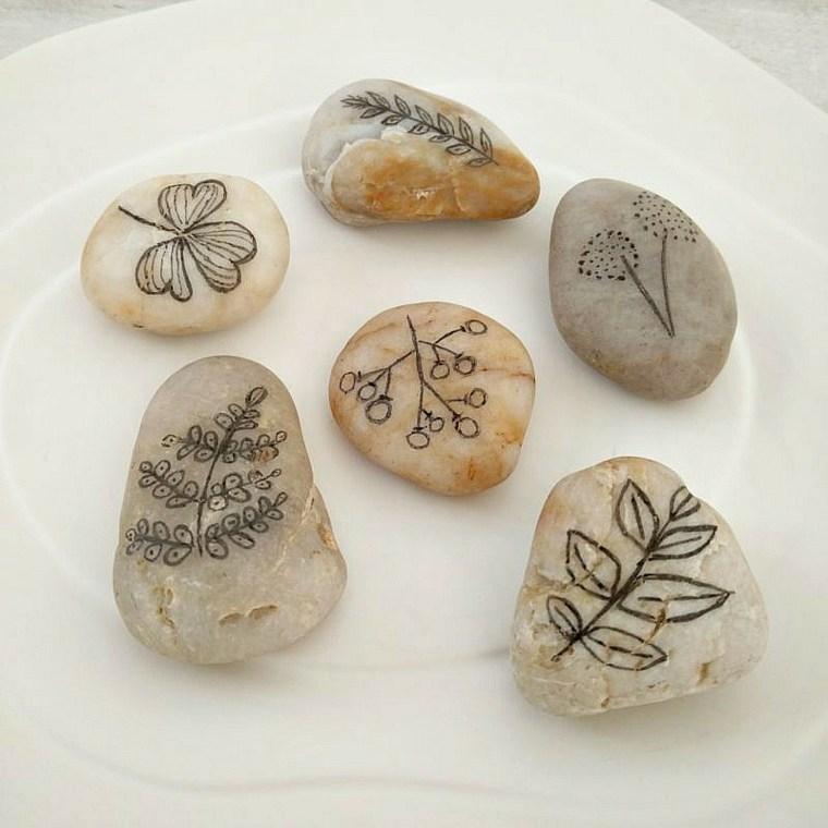 piedras para colorear decorar