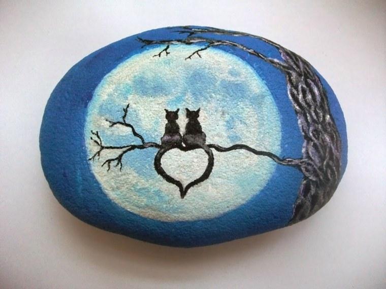 piedras pintadas interior