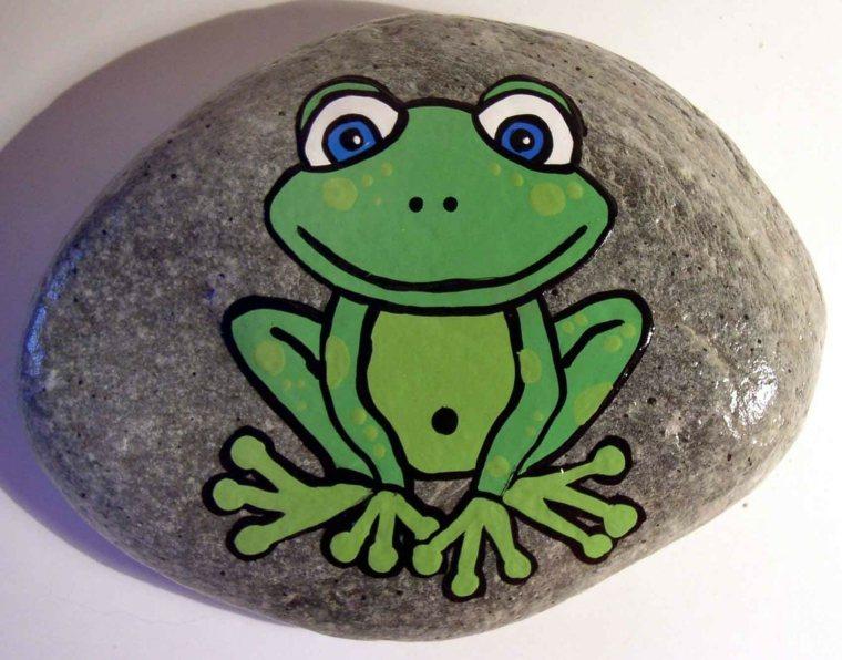 Piedras pintadas para decorar vuestra casa de forma original - Piedra para decorar ...