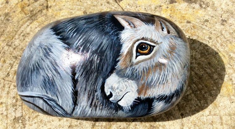 pintura para piedras