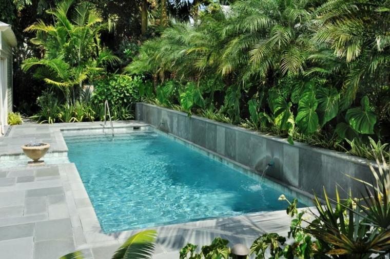 piscinas pequeñas para terrazas elegantes