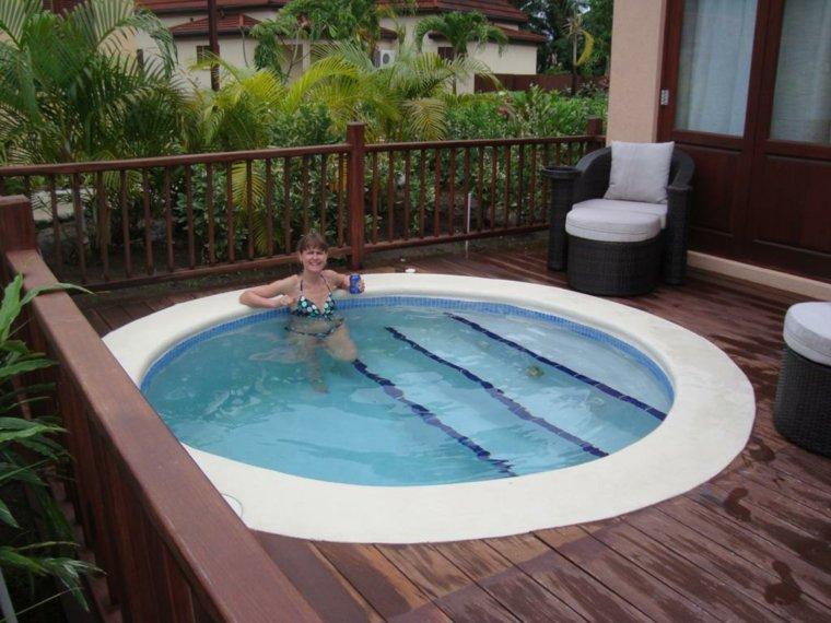 unos diseos muy modernos para unas piscinas pequeas para terrazas