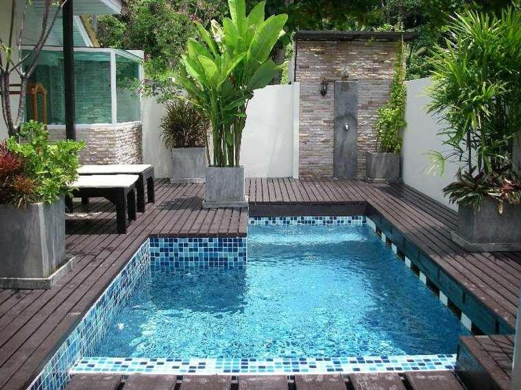 piscinas pequeñas para terrazas patios