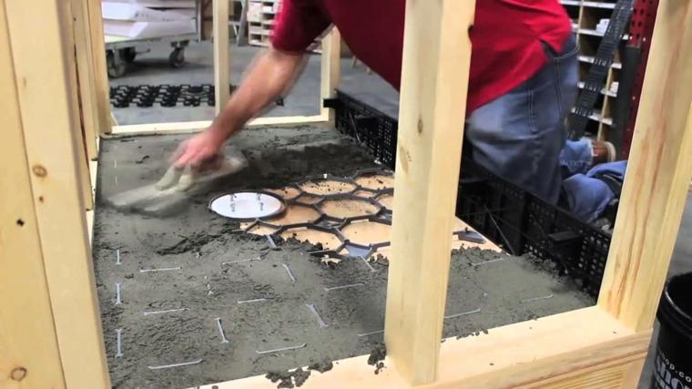 fijar el cemento