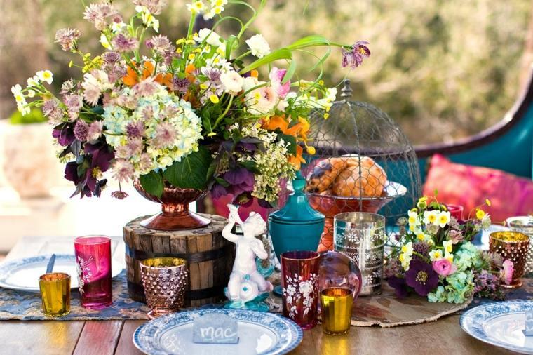preciosa decoración boda