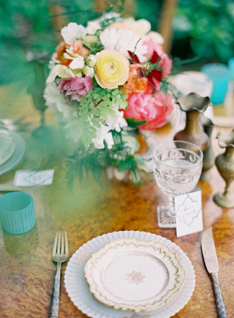 diseño mesa boda