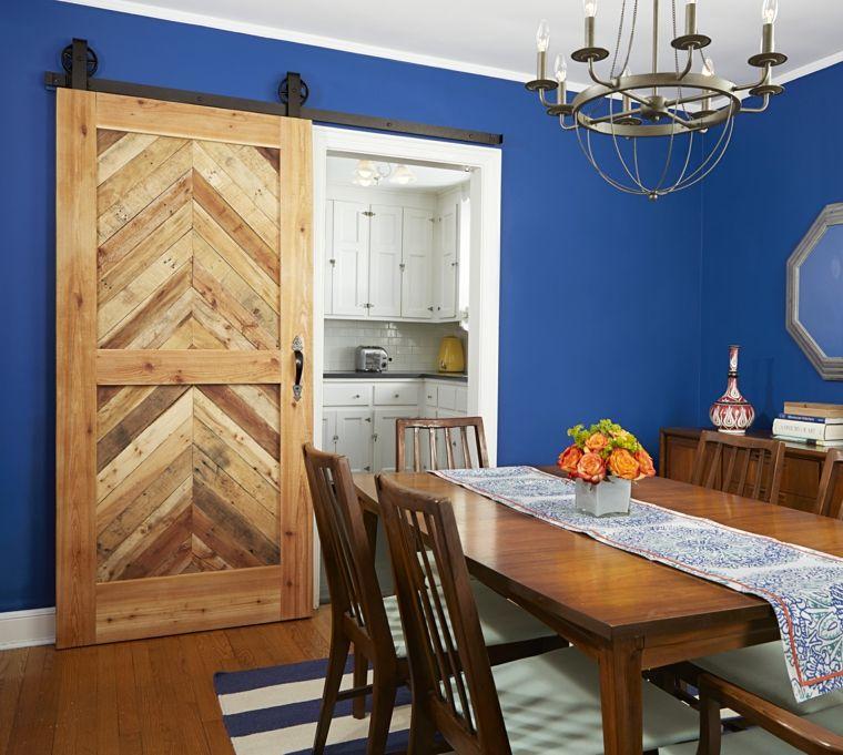 instalar puerta corredera puertas correderas de madera de estilo granero 42 ideas