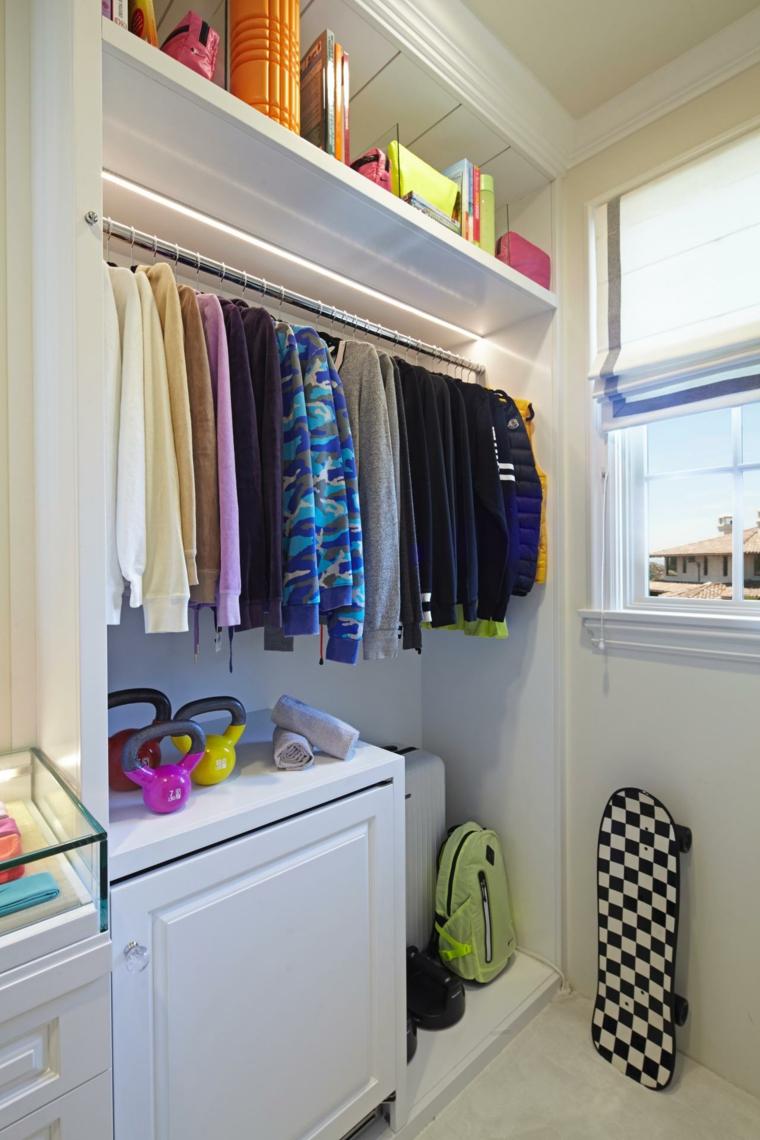 decorar armarios estrechos
