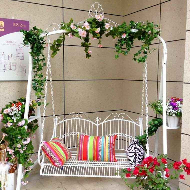 Balancines y hamacas para terrazas 34 ideas impresionantes - Columpio jardin ikea perpignan ...