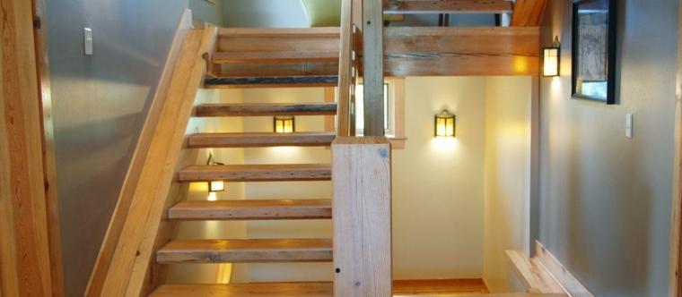 precioso diseño escaleras madera