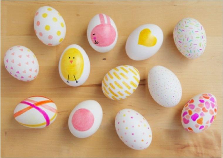 estupendos huevos estilo kawaii