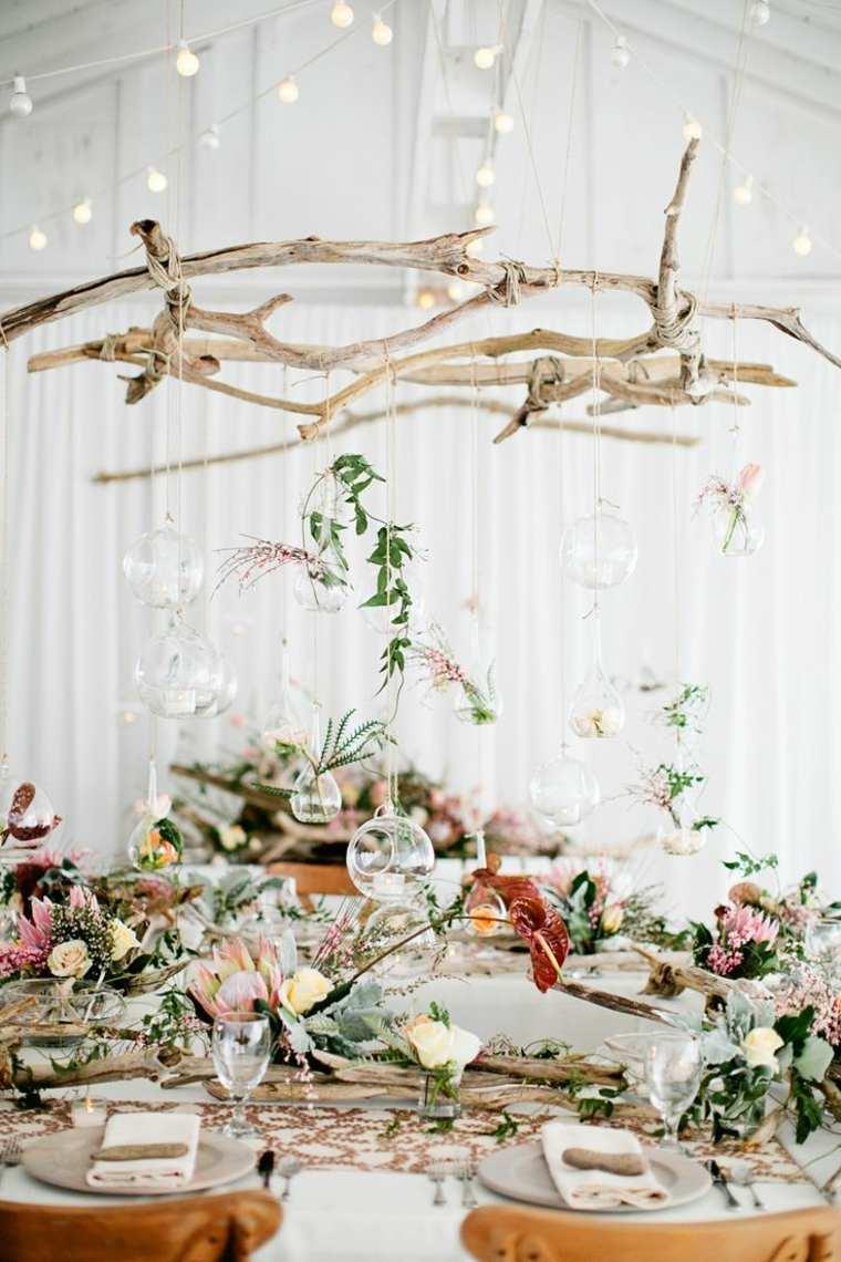 decoración boda madera deriva