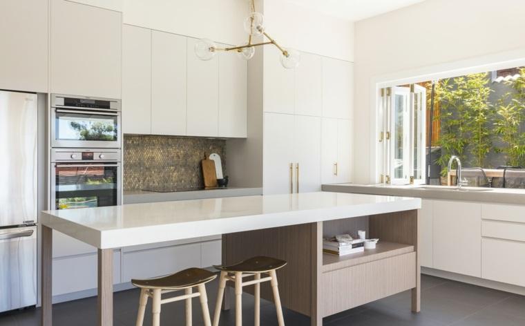 proyecto cocina moderna opciones estilo ideas