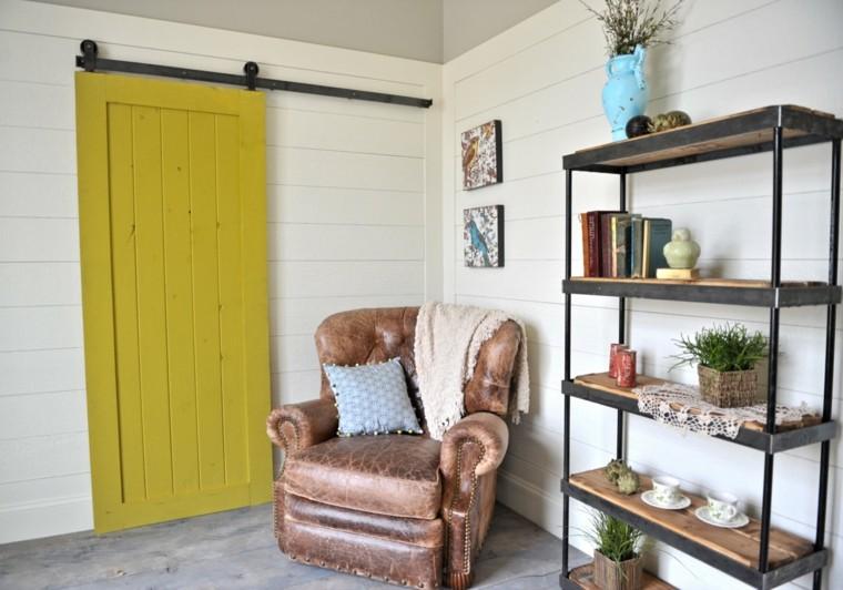 puerta deslizante estilo granero