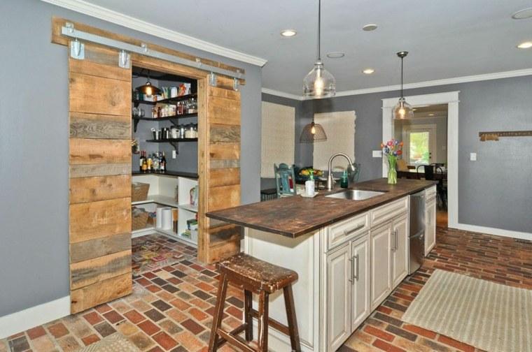 Puertas correderas para optimizar espacios peque os for Dividir cocina comedor