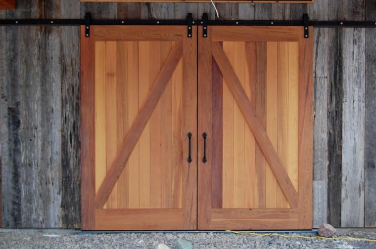 puertas estilo granero