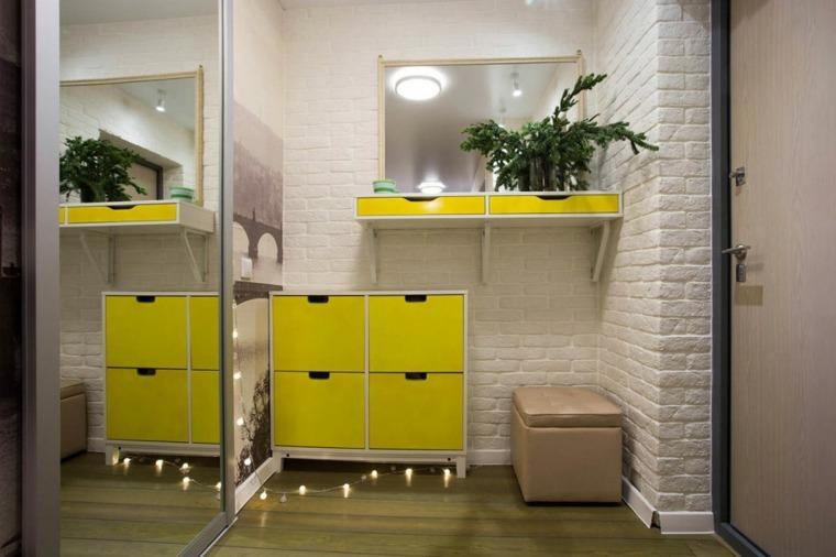 recibidor-pequeno-diseno-colores-llamativos-muebles
