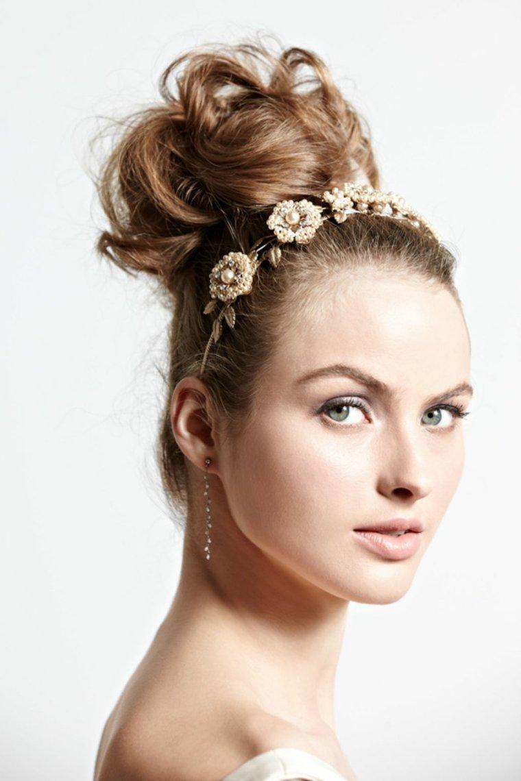recogidos altos peinados para bodas y otros eventos