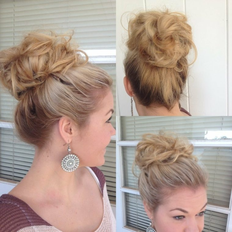 Recogidos altos peinados para bodas y otros eventos - Peinados monos modernos ...