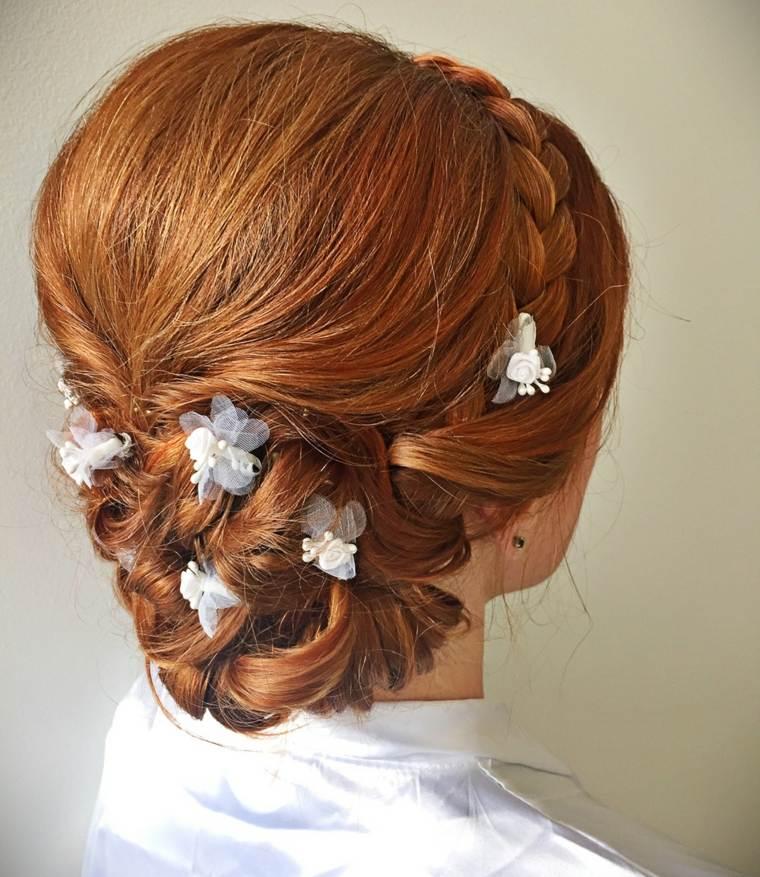 Recogidos para bodas muy modernos y elegantes - Peinados monos modernos ...