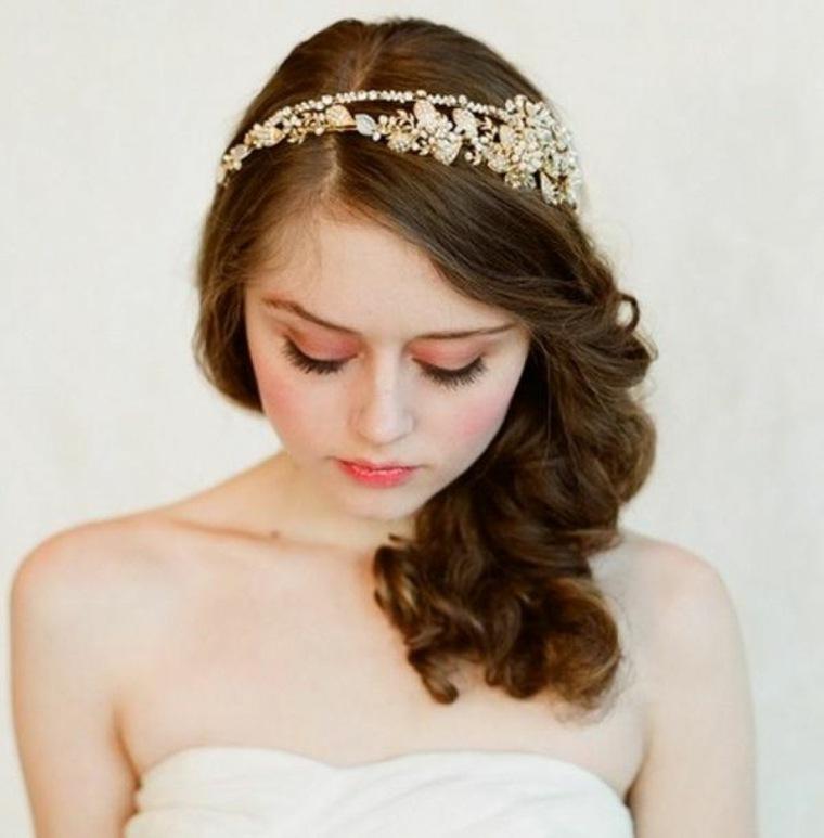 recogidos para bodas novias modernas
