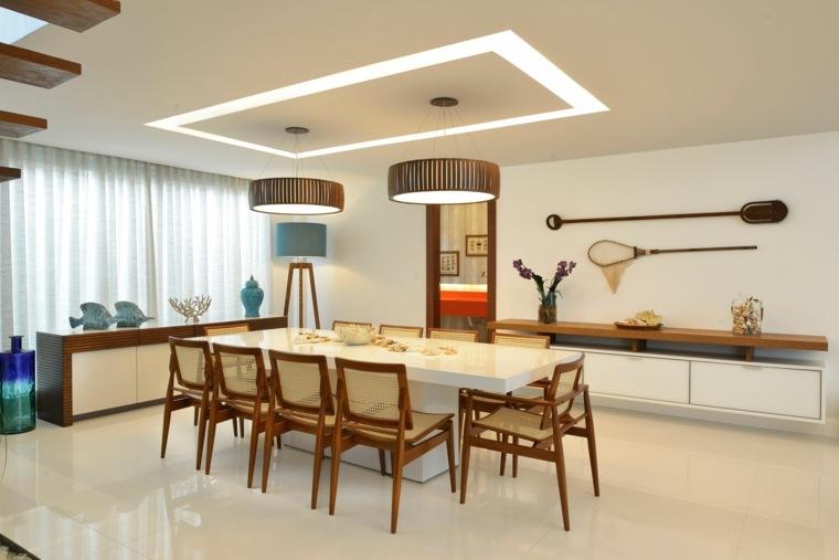 residencia playa moderna comedor Pinheiro Martinez Arquitetura ideas