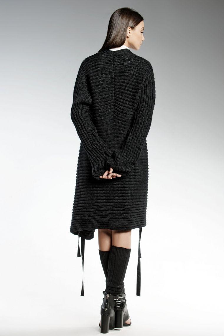 ropa de moda Pendari chaqueta punto negra ideas