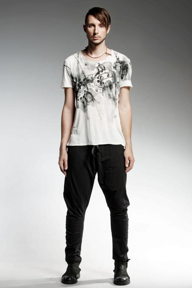 ropa de moda Pendari pantalon algodon rond ideas