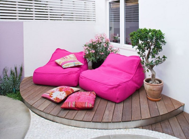 rosa detalles muebles conceptos materiales