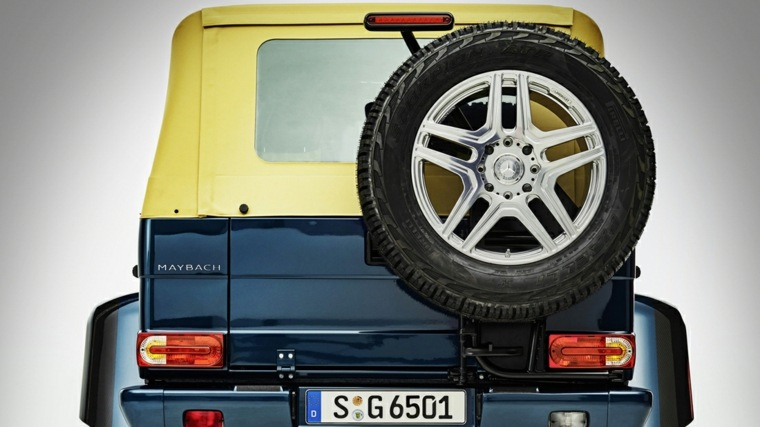 Mercedes Benz Maybach G650 Landaulet una maravilla tecnológica