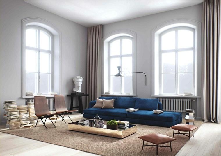 Salones de dise o estilo n rdico y chic en 36 fotos bellas - Salones con estilo moderno ...