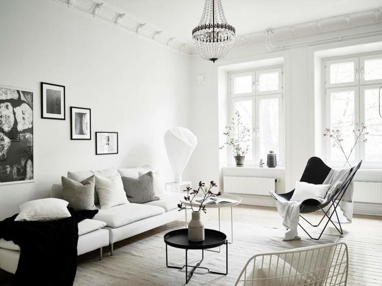 salon diseno escandinavo ventanas grandes ideas