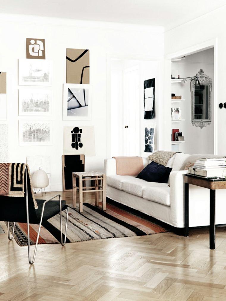 salones de diseno estilo nordico apartamento detalles originales ideas