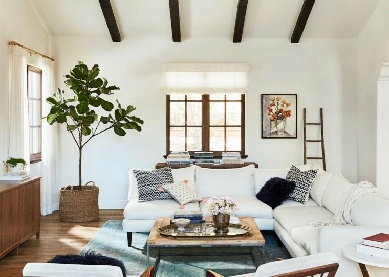 salones de diseno estilo nordico muebles blanco ideas with diseo nordico muebles