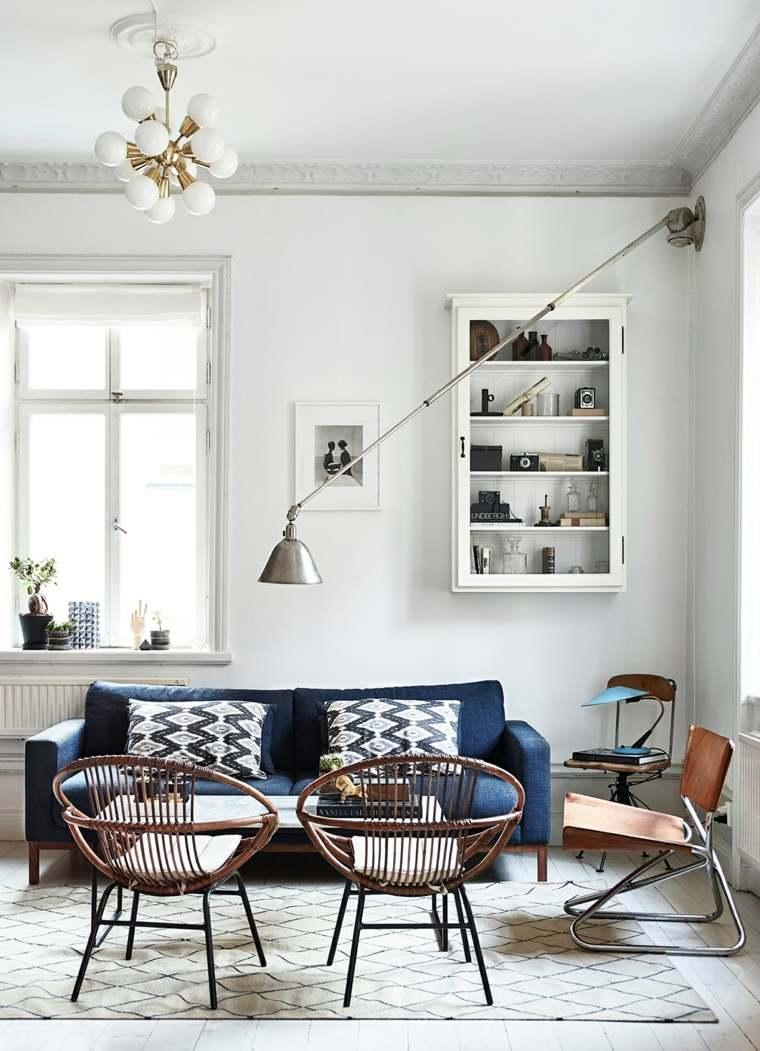 Salones de diseño estilo nórdico y chic en 36 fotos bellas -