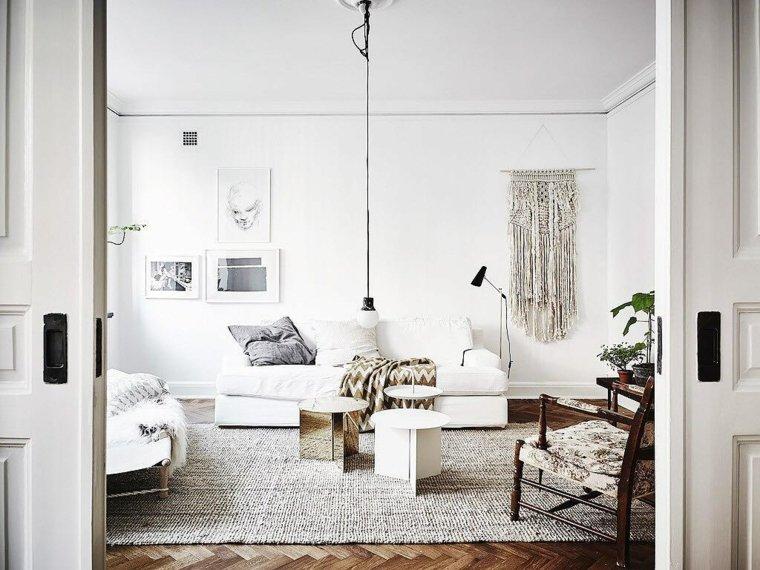 salones estilo nordico detalles modernos estilo ideas