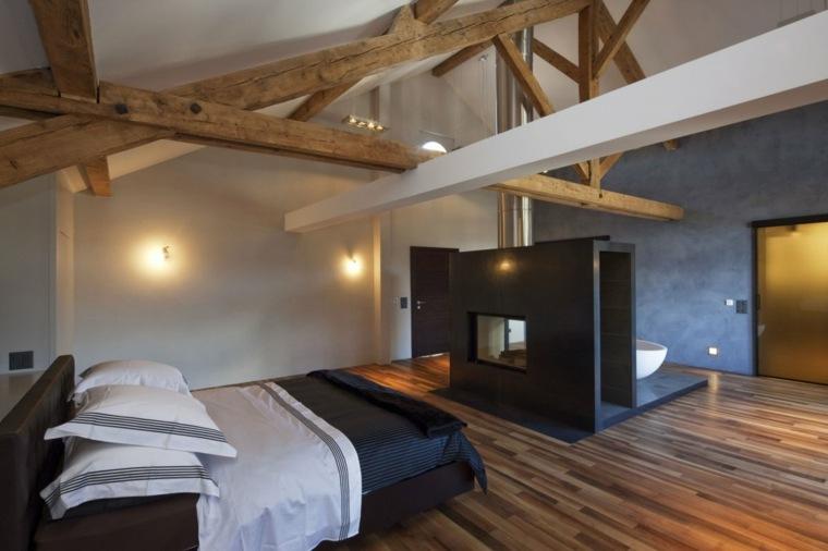solería rústica dormitorio