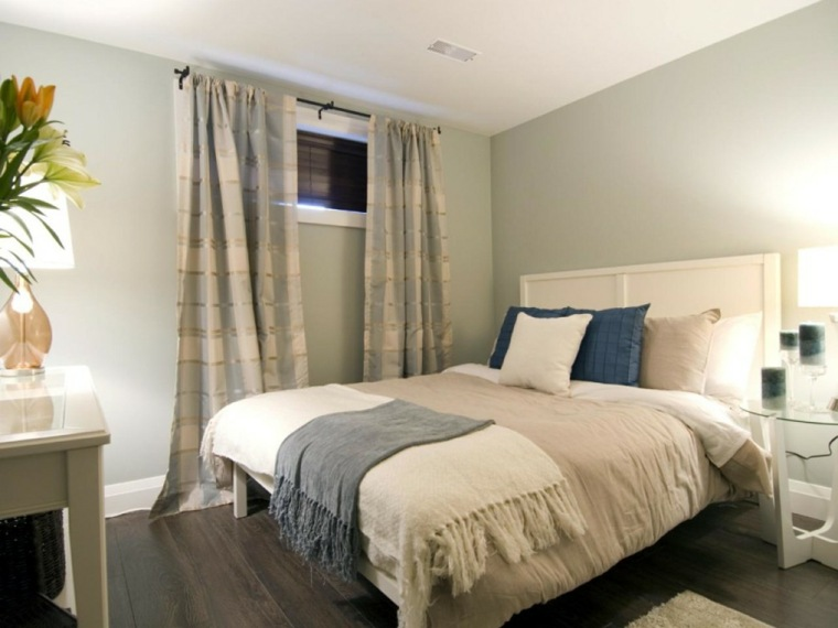 Cortinas ideas para llenar de estilo las ventanas peque as - Sotanos decorados ...